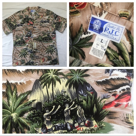 RJC Other - RJC - Authentic Vintage Hawaiian Aloha Shirt 🌴